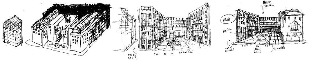 Immeuble de bureaux à Lyon