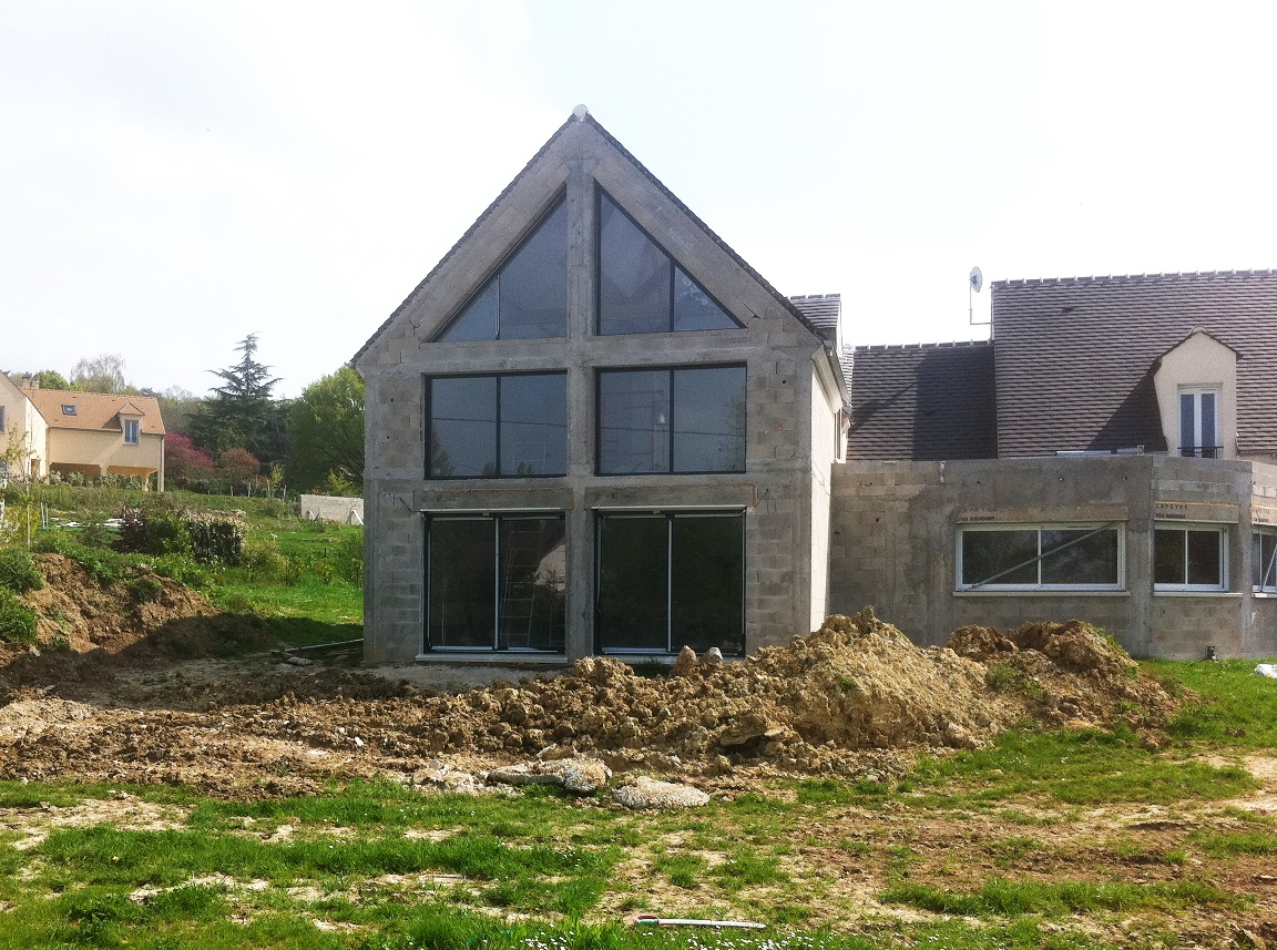 Image Principale - Extension d'une habitation à Bazemont