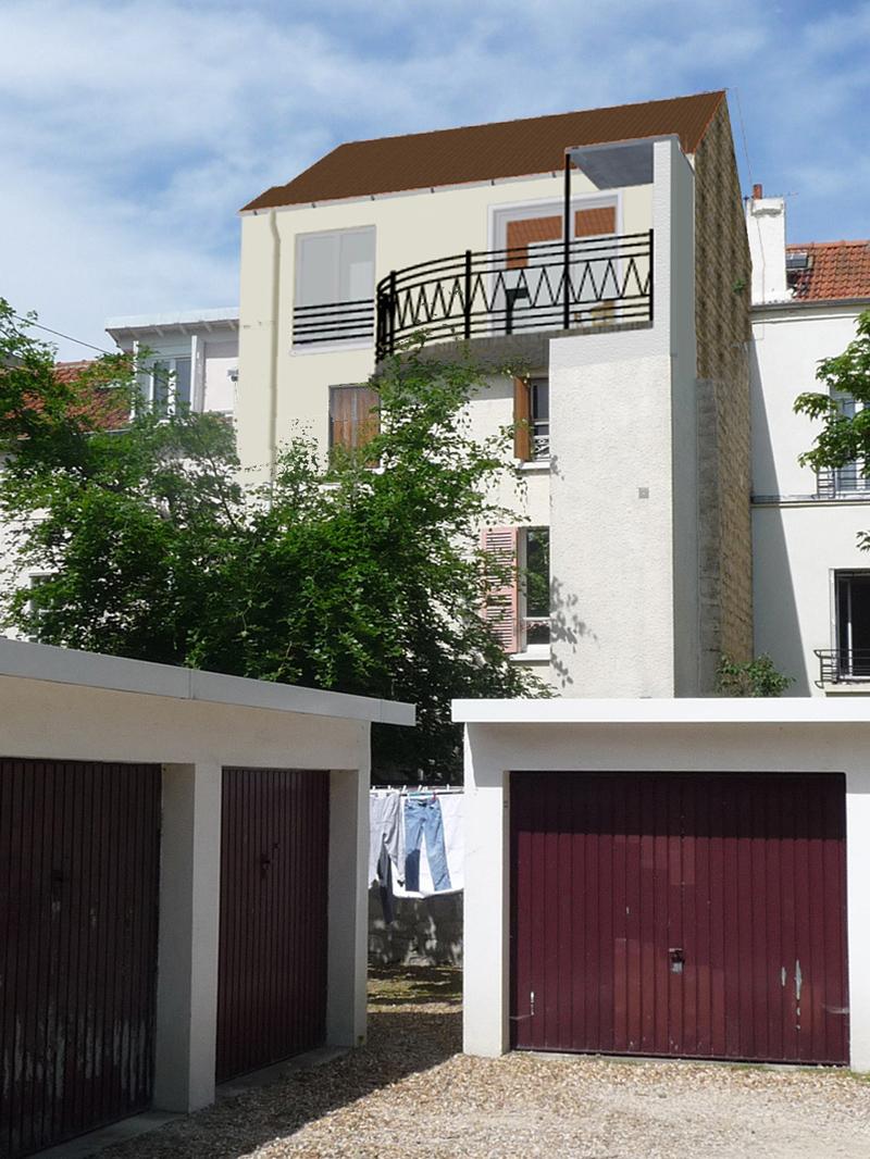 Image Principale - Surélévation d'un pavillon à Chatou