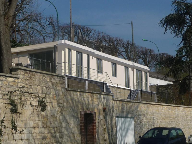 Image Principale - Construction d'une terrasse avec vue sur la Seine à Croissy-sur-Seine
