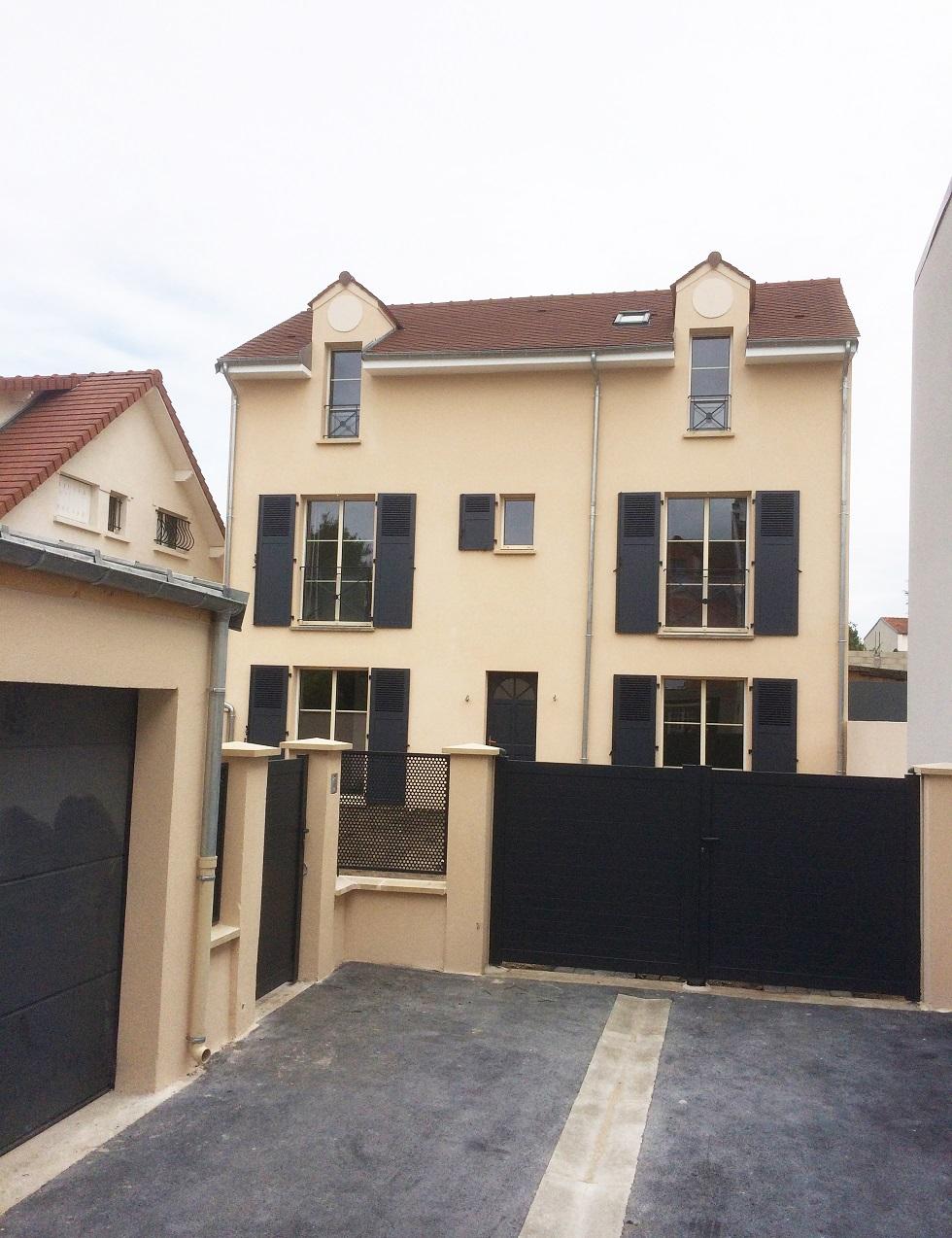 Image Principale - Deux maisons de ville à Croissy sur Seine