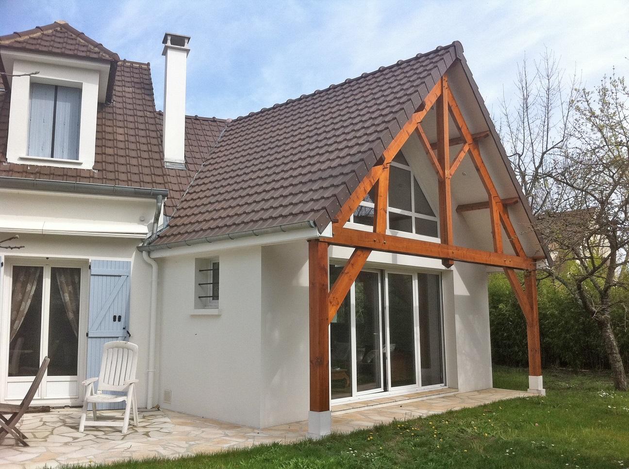 Image Principale - Extension d'un pavillon à Croissy-sur-Seine
