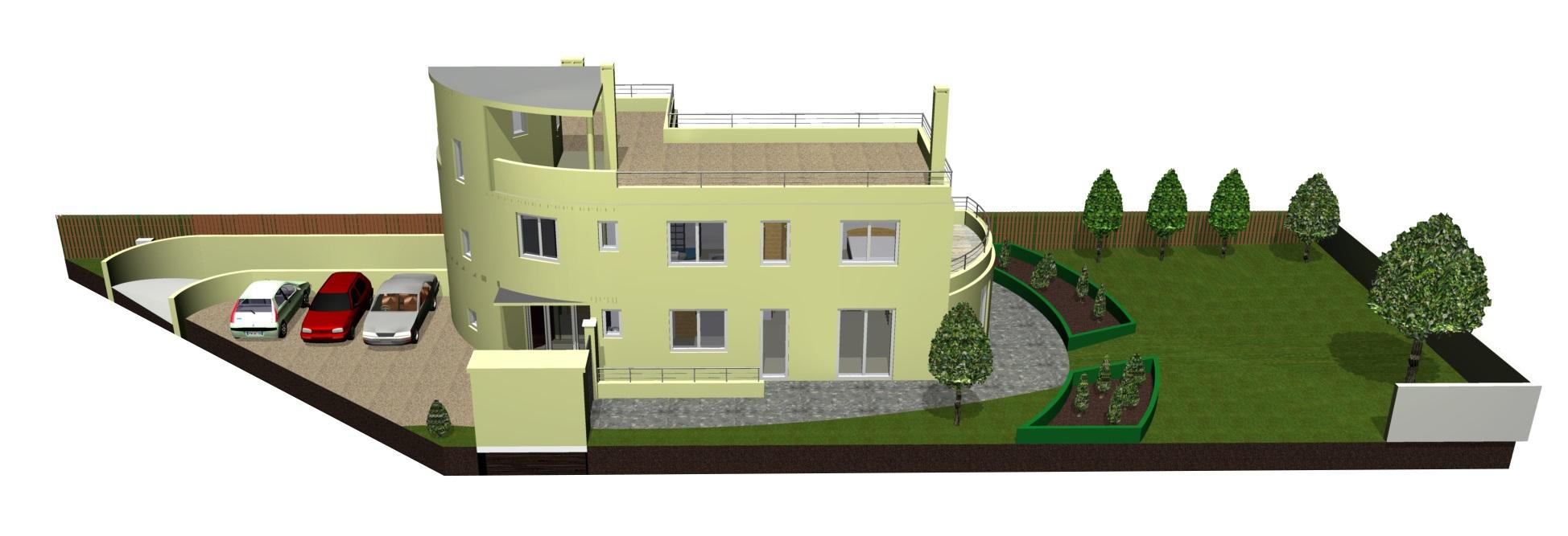 Image Principale - Esquisse pour une villa à Plaisir