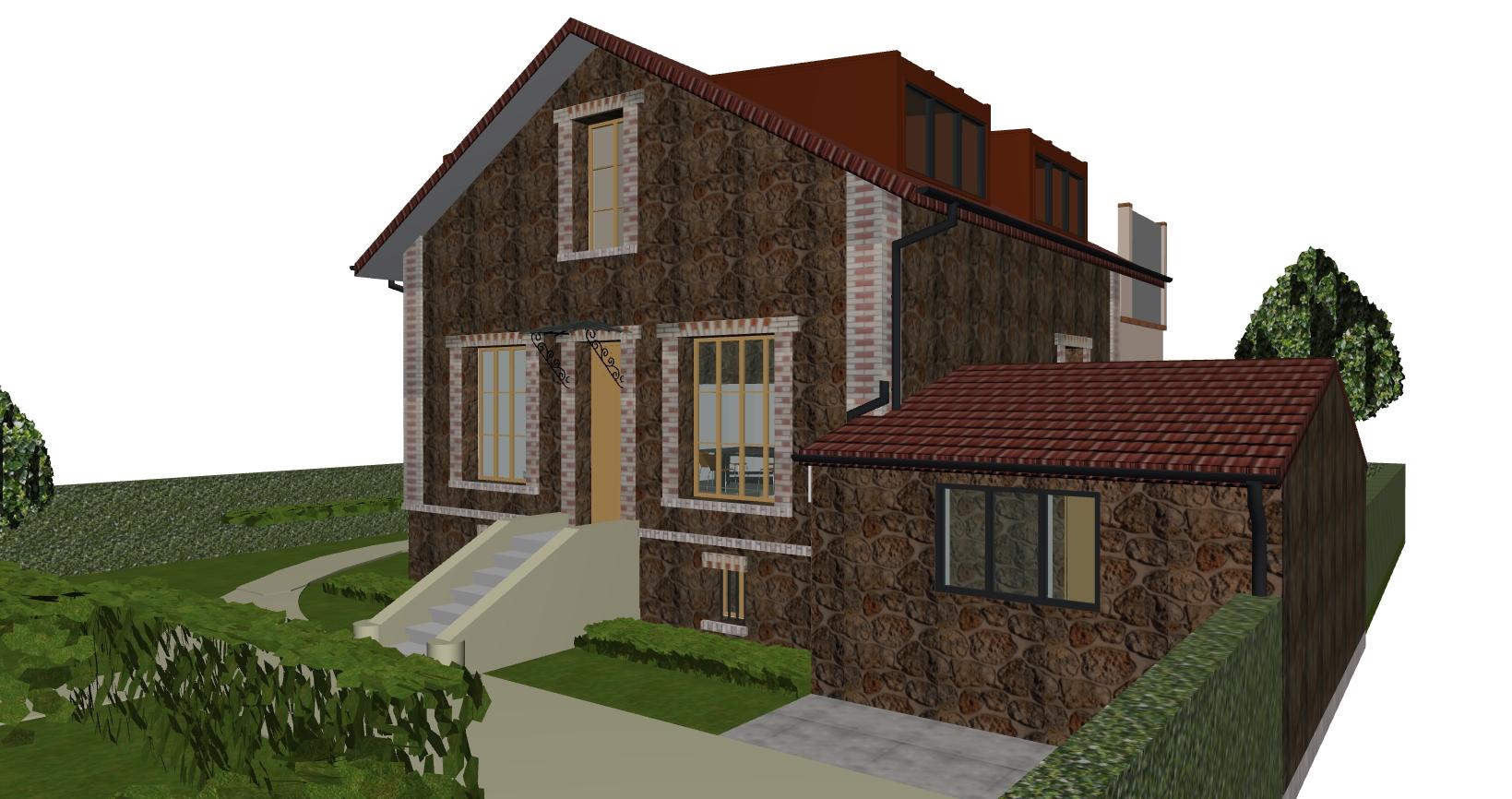 Image Principale - Extension d'une habitation à Croissy