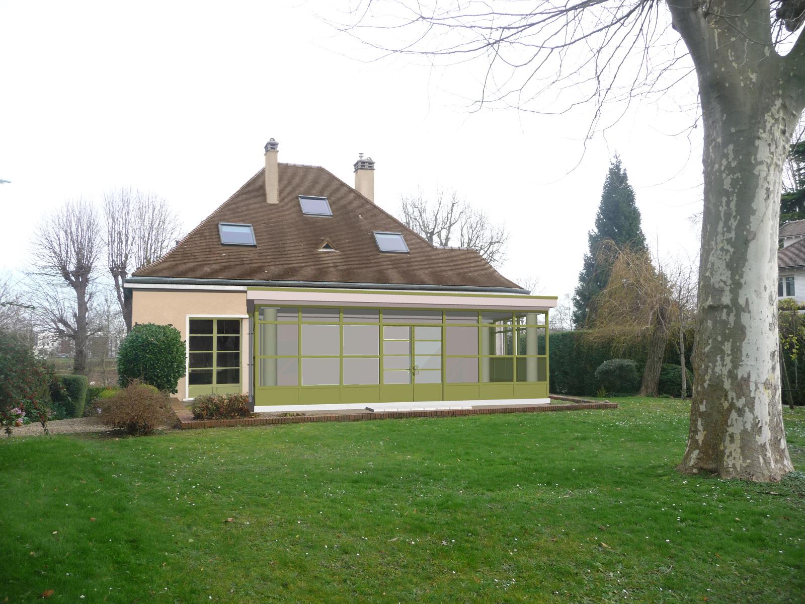 Image Principale - Extension d'une maison à Louveciennes