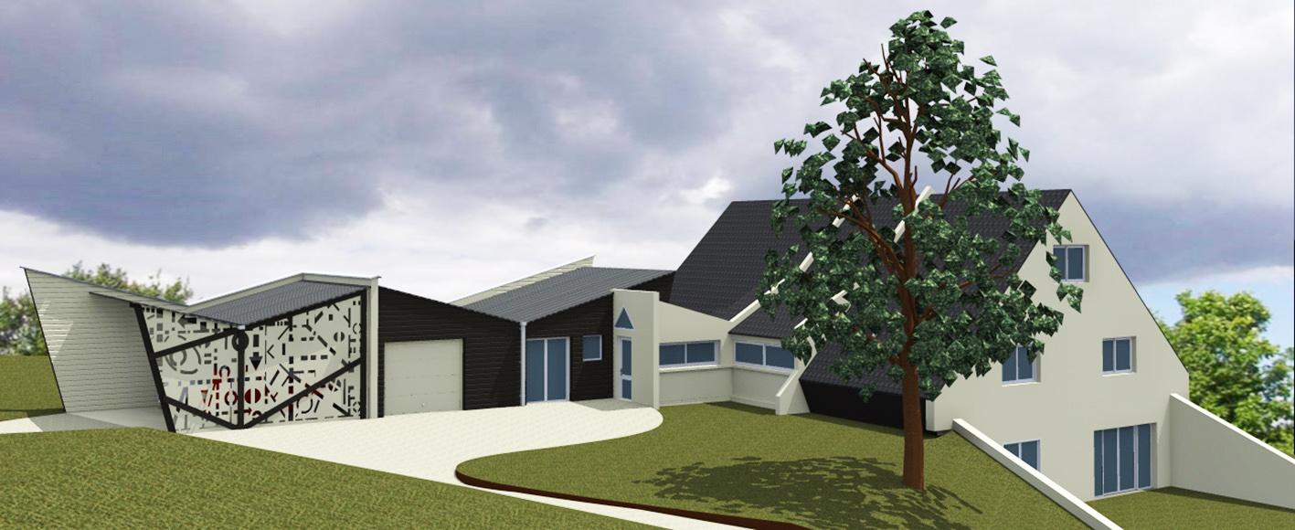 Image Principale - Extension d'une maison à Thiverval