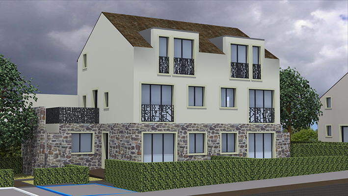 Image Principale - Projet de 10 logements à Autouillet